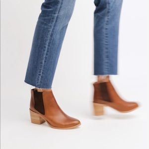Nisolo Heeled Chelsea Boots (NWT)